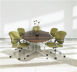 Elliptical Conference Table