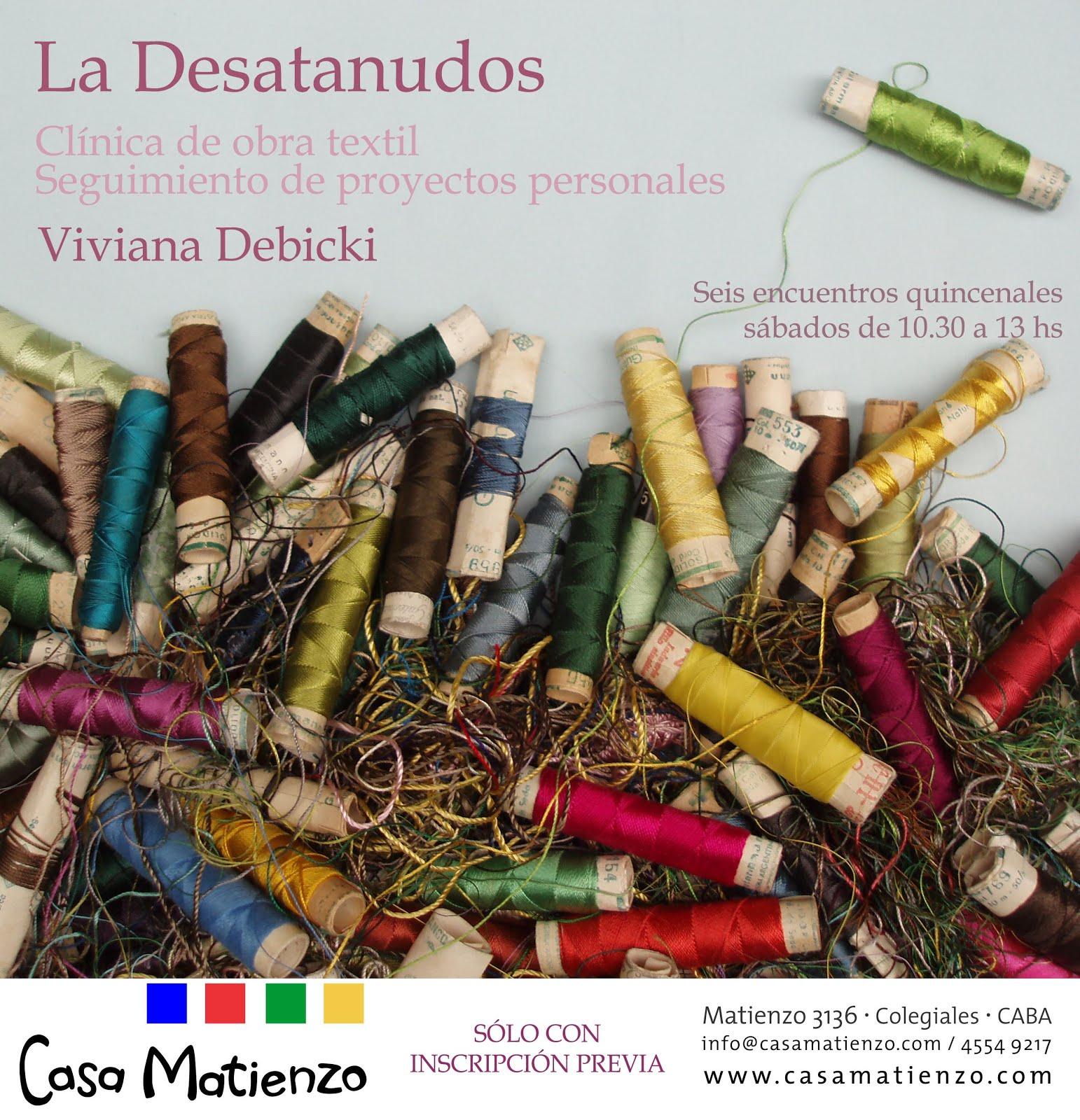 TALLER LA DESATANUDOS por Viviana Debicki