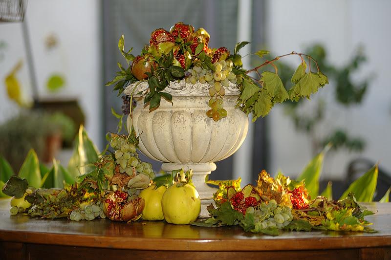 Dal decoupage alla cucina caldi colori autunnali - Colori adatti alla cucina ...