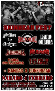 Skinhead Fest en El Clandestino