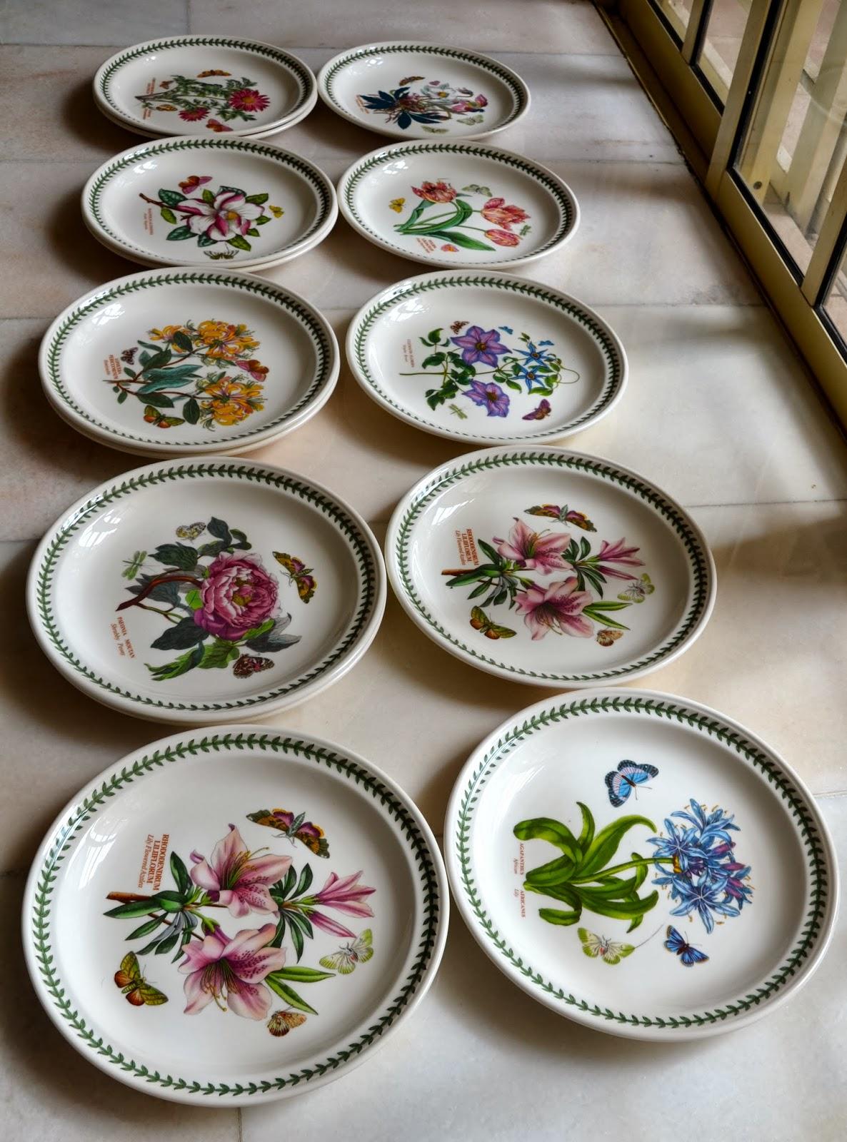 Kitch 39 N 39 Chic Portmeirion Botanic Garden Dinner Plates