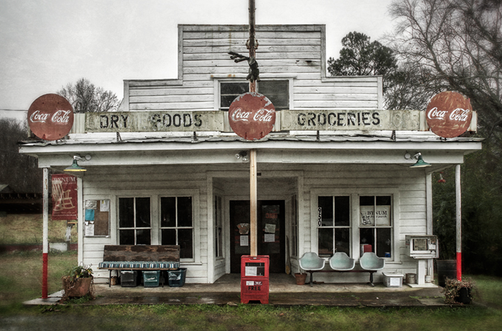 Dan Routh Photography: Bynum General Store and Post Office