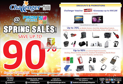 Challenger PIKOM ICT Mall Capsquare Spring Sales