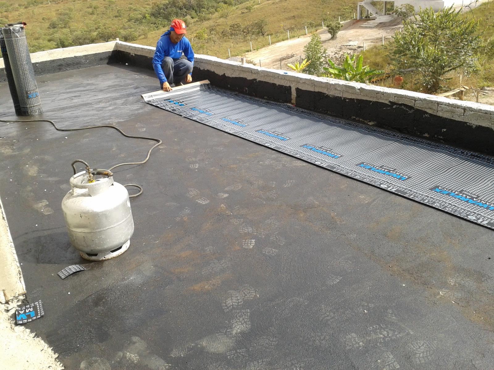 Famosos Modo Construção: Telhado ou terraço? Fizemos um terraço, veja o  NL81