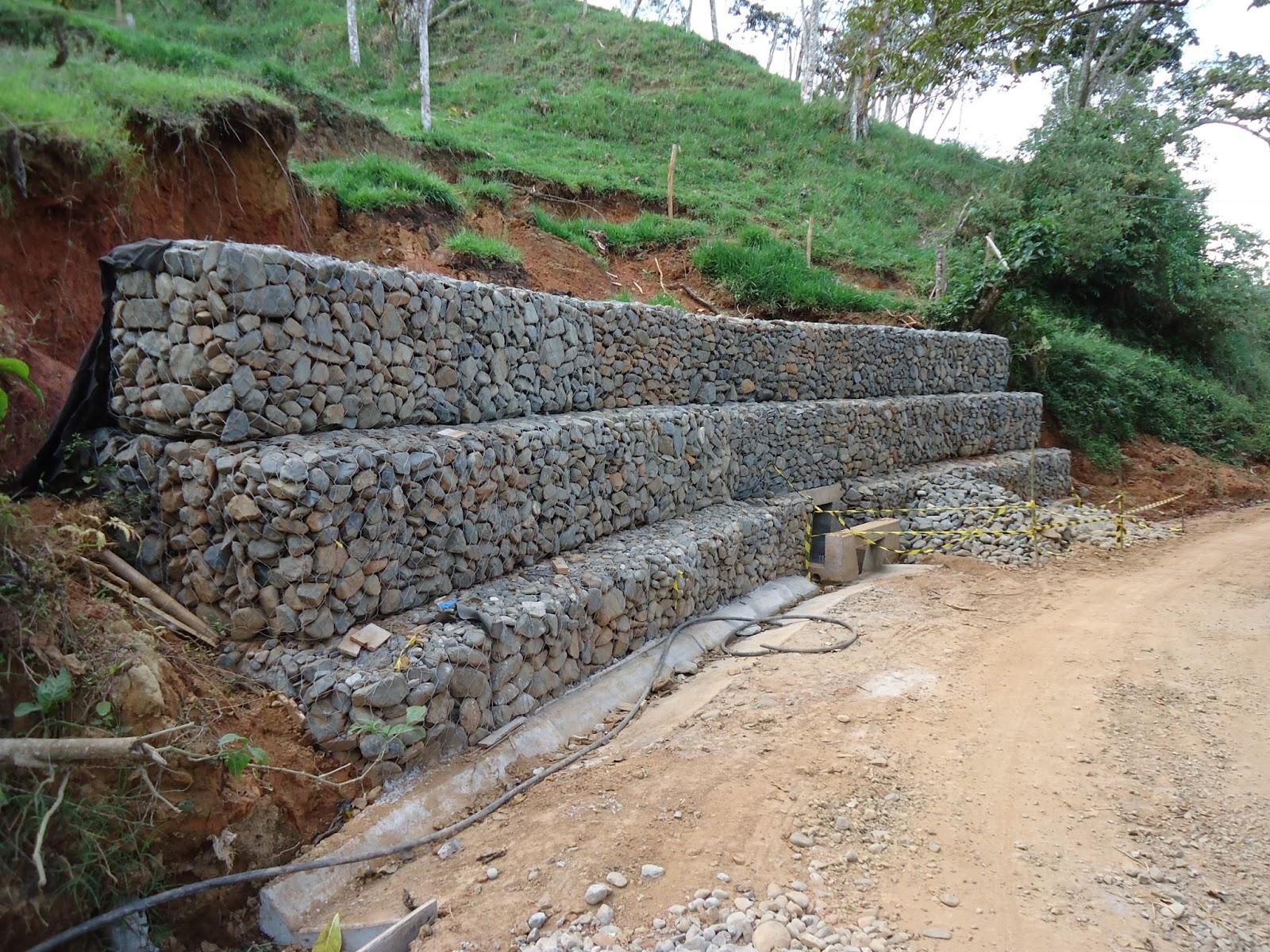 Manual de gaviones for Gaviones de piedra
