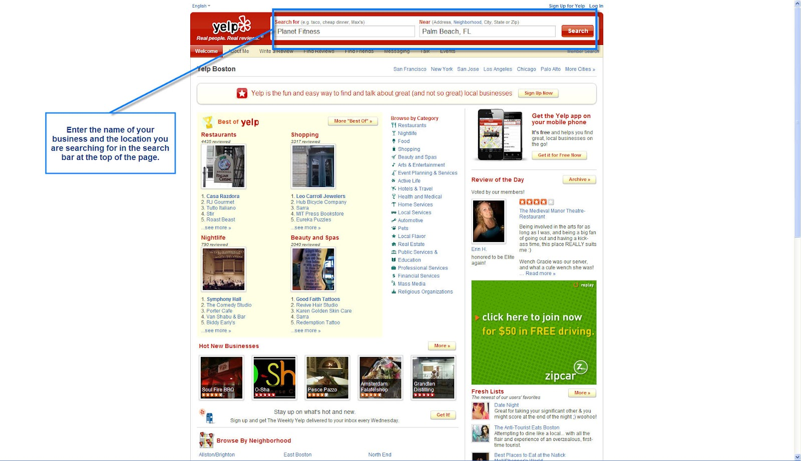 Setting Up Your Yelp Business Page Business Plus One