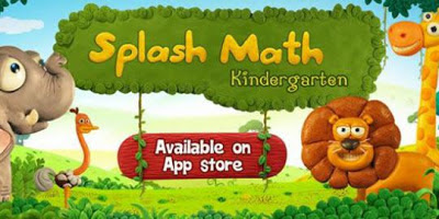 belajar matematika dengan Splash Math Kindergarten