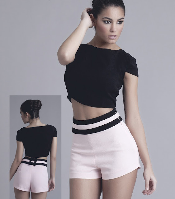 Short Mariella y Top Mara Love Lova