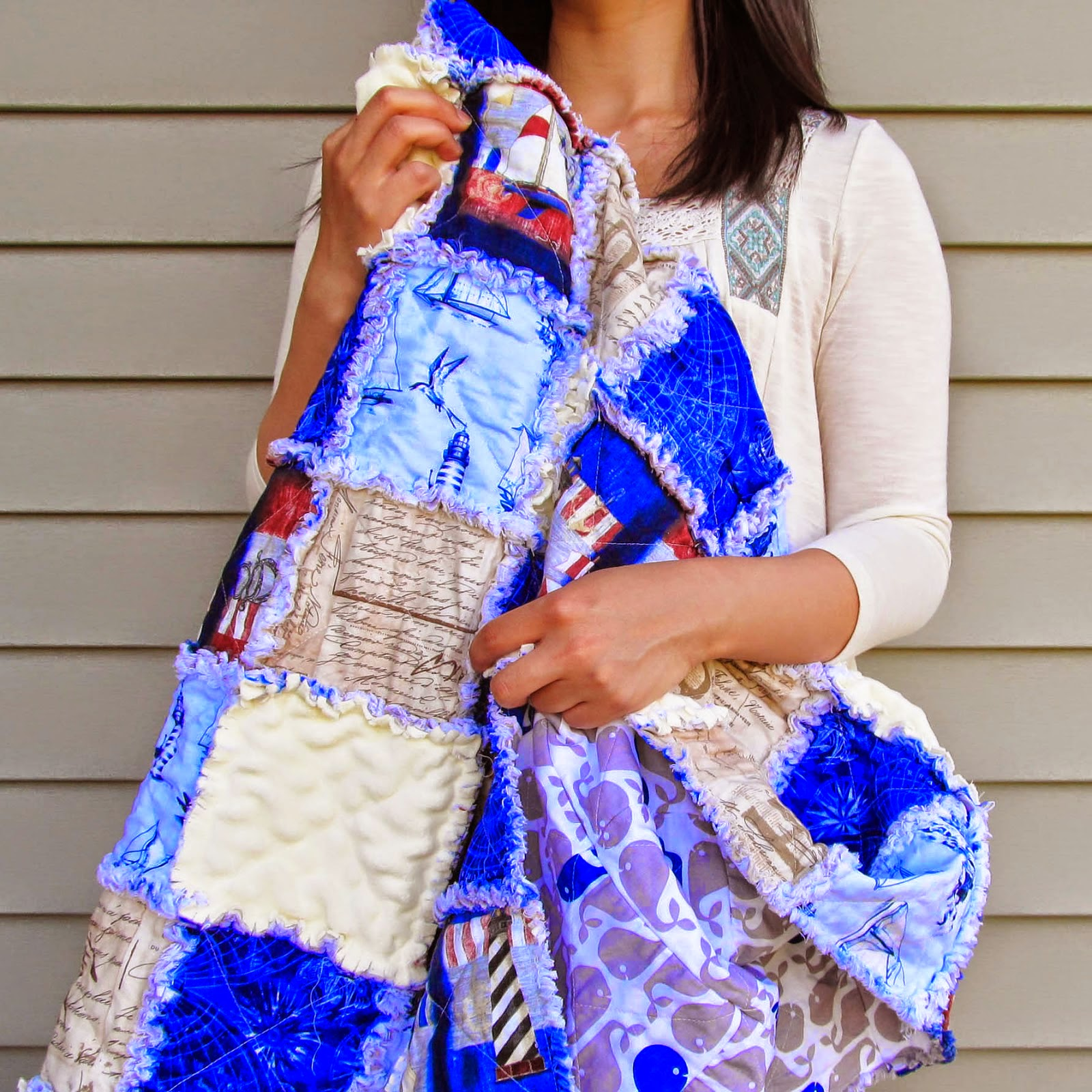 Rag Quilt how-to