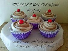 Souvenirs Original Cupcake Toalla