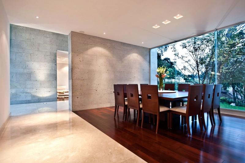 Dise o de casa contempor nea en el campo construye hogar for Diseno de oficinas contemporaneas