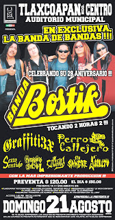 Banda Bostik en Tlaxcoapan