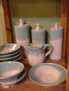 The Potter Stone's Spring Stoneware