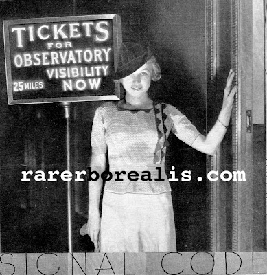 free 1930's Crochet - Signal Code Blouse