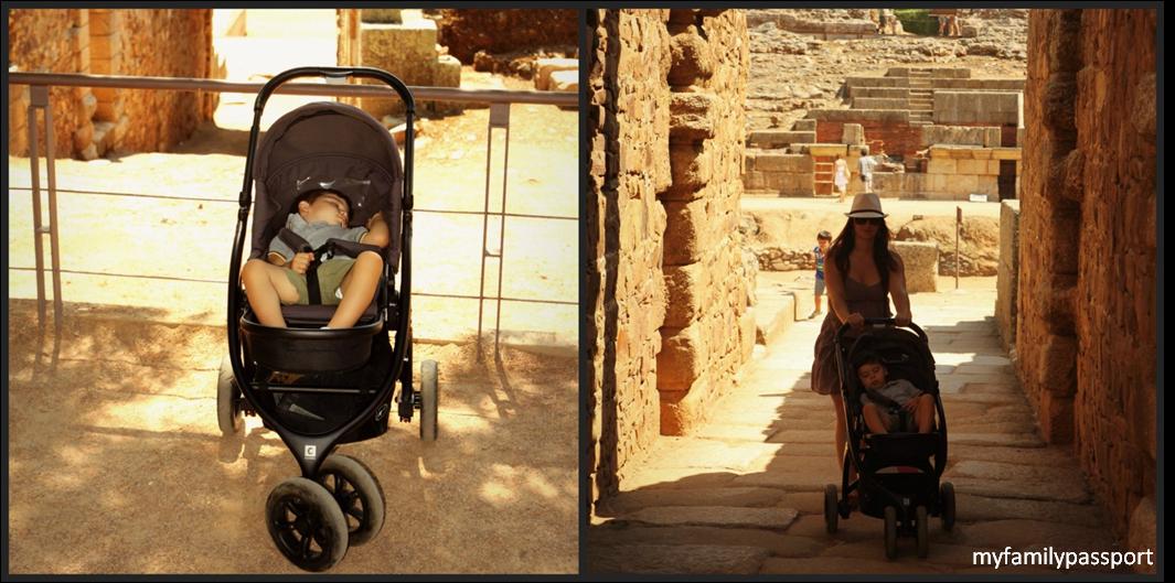 Mérida con niños Extremadura