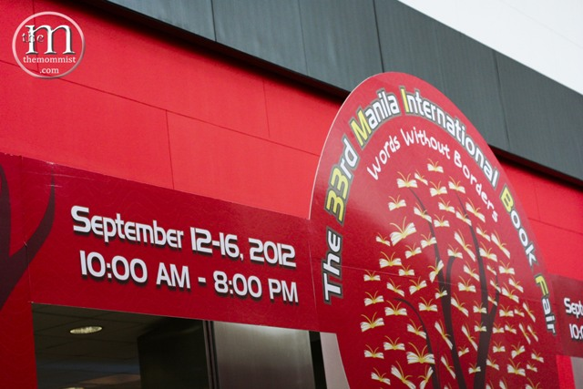 Manila International Book Fair 2012 Entrance
