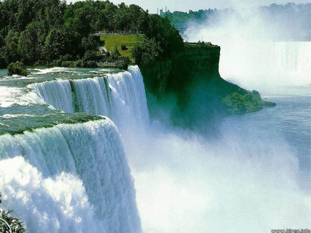 Full wallpaper natural waterfall wallpapers for Immagini natura gratis
