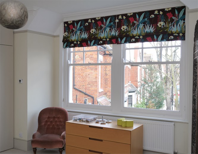 Kenzo jungle fabric blinds
