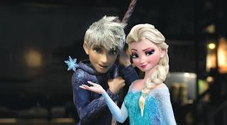 Gambar Elsa dan Jack Forst wallpaper 3