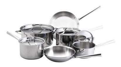 Giada DeLaurentiis 10 Pc. Professional Series Tri Ply Clad Cookware
