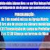 Programação da posse do prefeito Adamor Aires