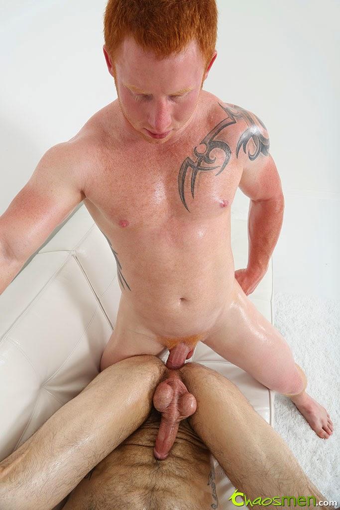 Gay man doing wheelie