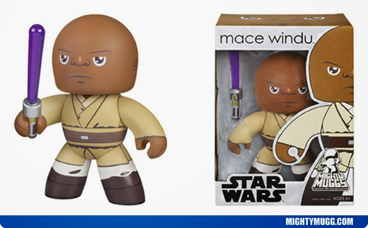 Mace Windu Star Wars Mighty Muggs Wave 2