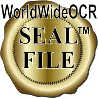 (Copyright) WorldWide OCR Seal