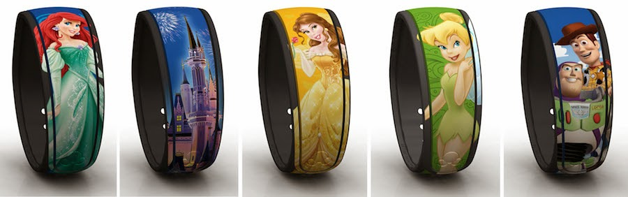 pulseiras Disney Magic Band