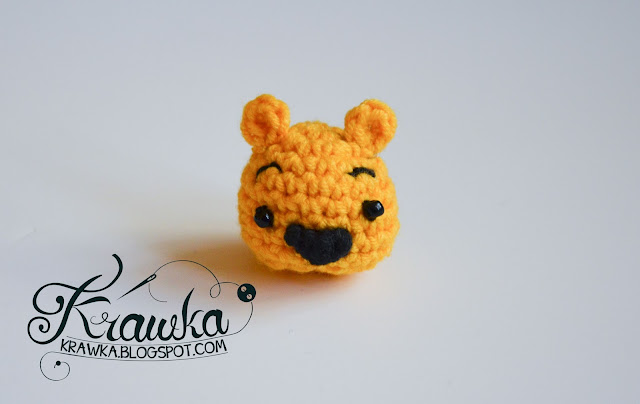 Krawka: Winnie the Pooh and friends -minis crochet free pattern.