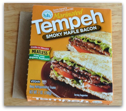 maple bacon tempeh