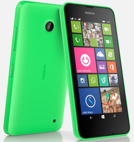 Nokia Lumia 630 Windows 8.1 Dual SIM Phone Launched in India for Rs.11500