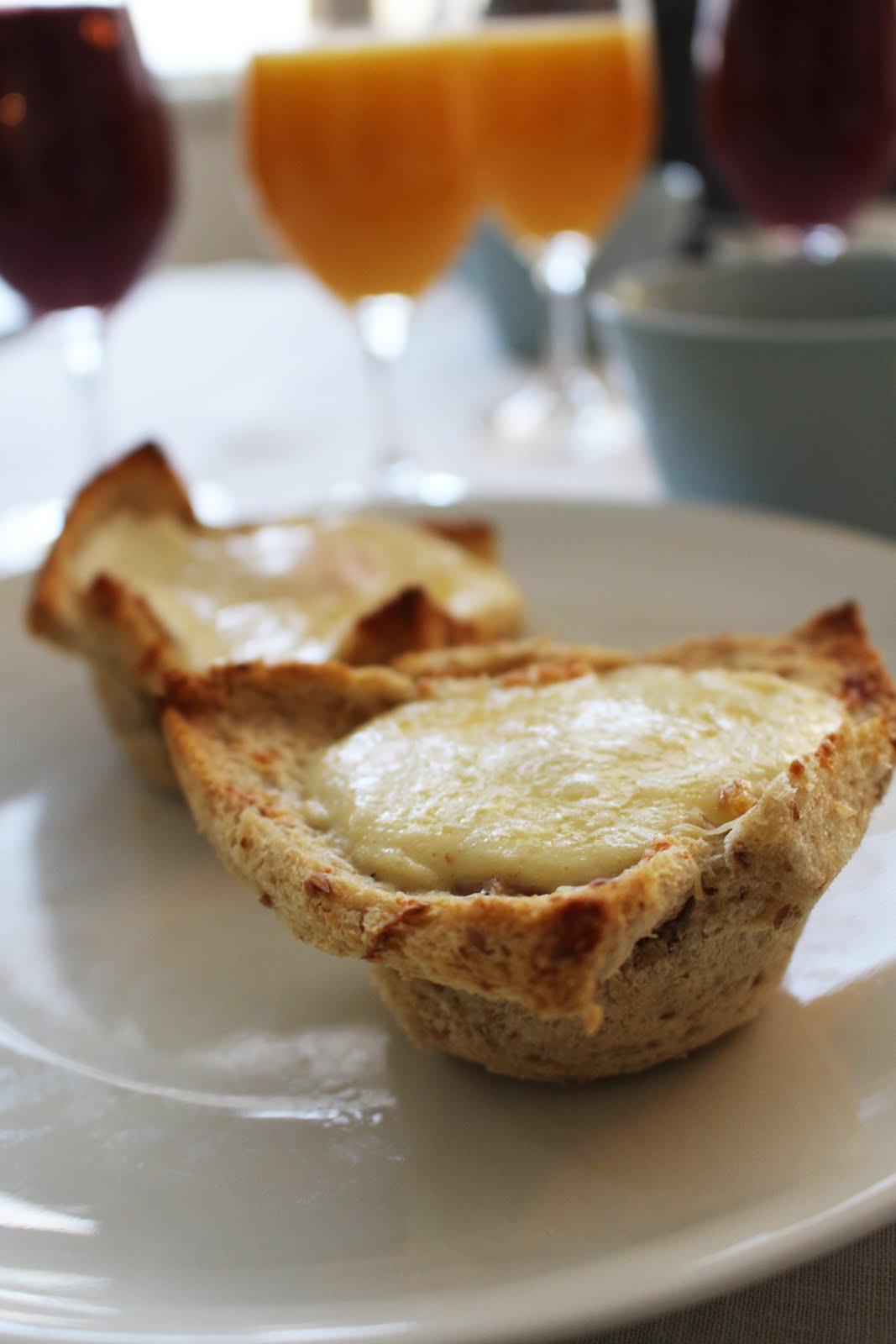 Croque Madame -muffinit