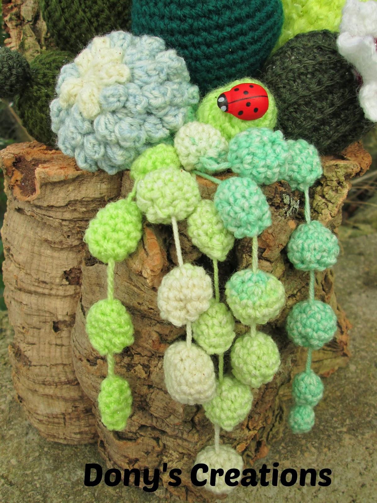 Dony 39 s creations handmade composizione piante grasse for Piante grasse uncinetto