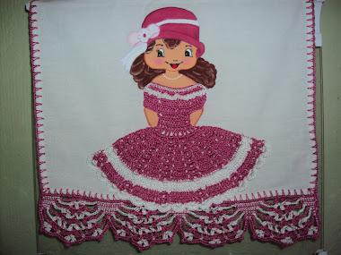 Pintura em tecidos (bonecas)