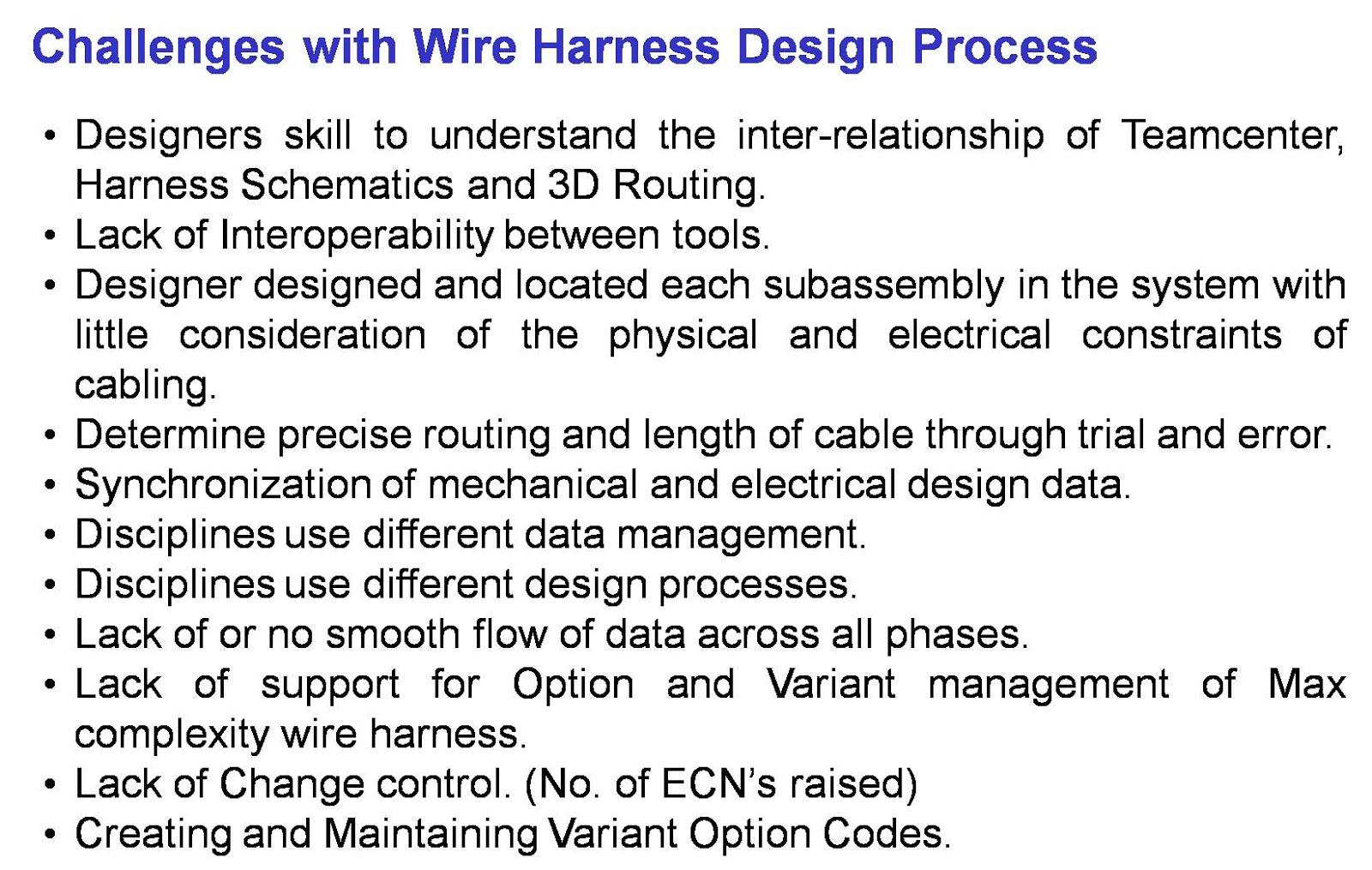 Bhupesh Sharma Wiring Harness Design In Plm Benchmarking