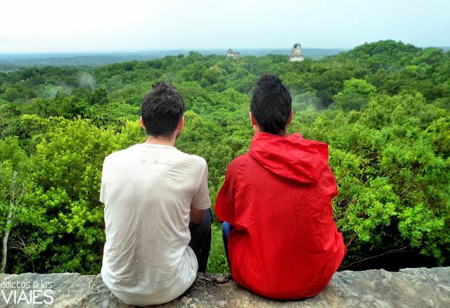 templos de tikal y selva peten