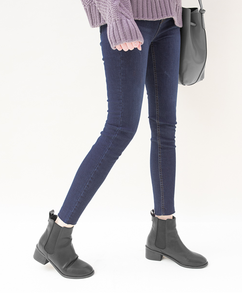 Basic Blue Skinny Jeans