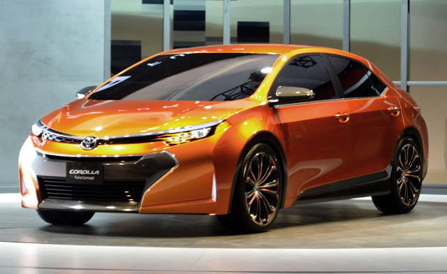 World Car Wallpapers: 2014 Toyota corolla furia concept
