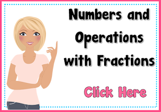 Numbers and Operations with Fractions