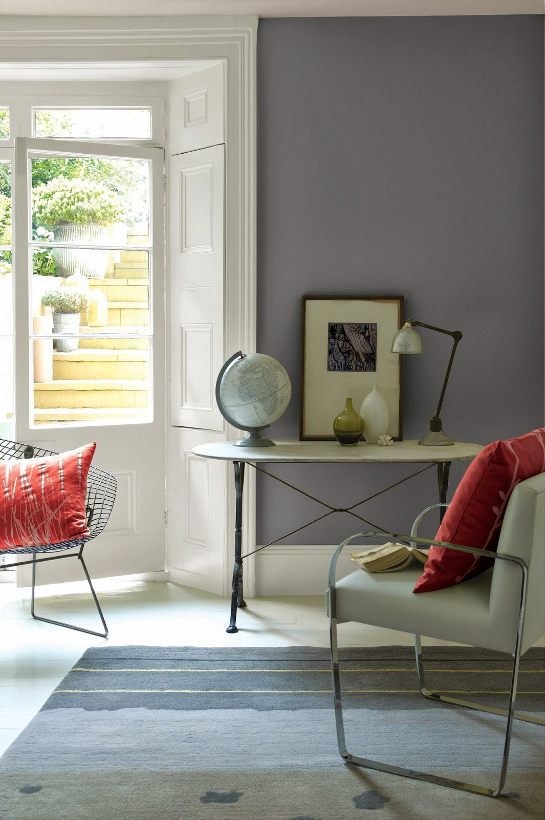 a perfect gray Gliddens Best Gray Paint Colors
