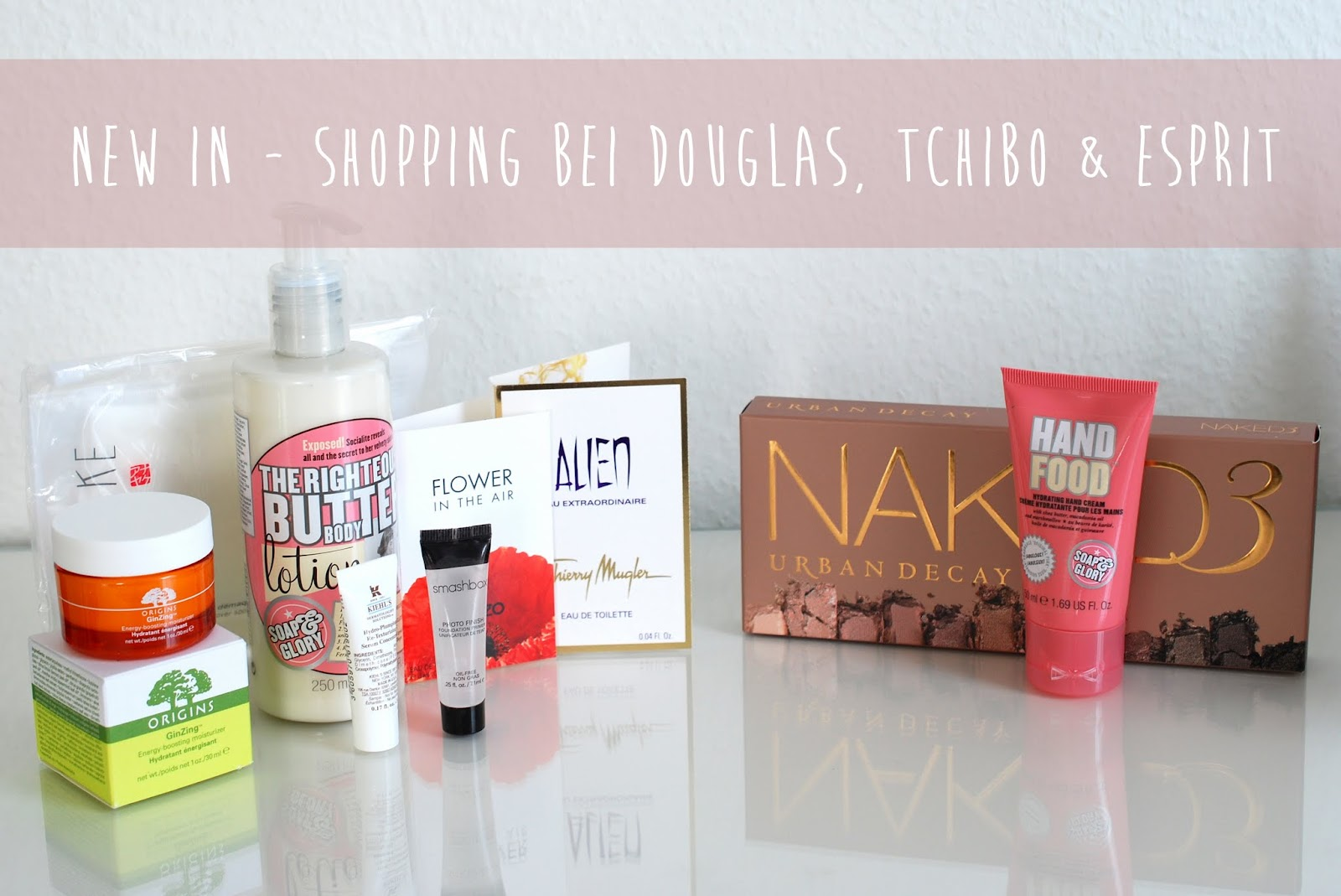 {New In} Shopping bei Douglas, Esprit und Tchibo