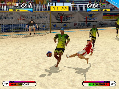 Pro Beach Soccer Screenshots 1
