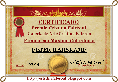 Peter Harskamp - Premio