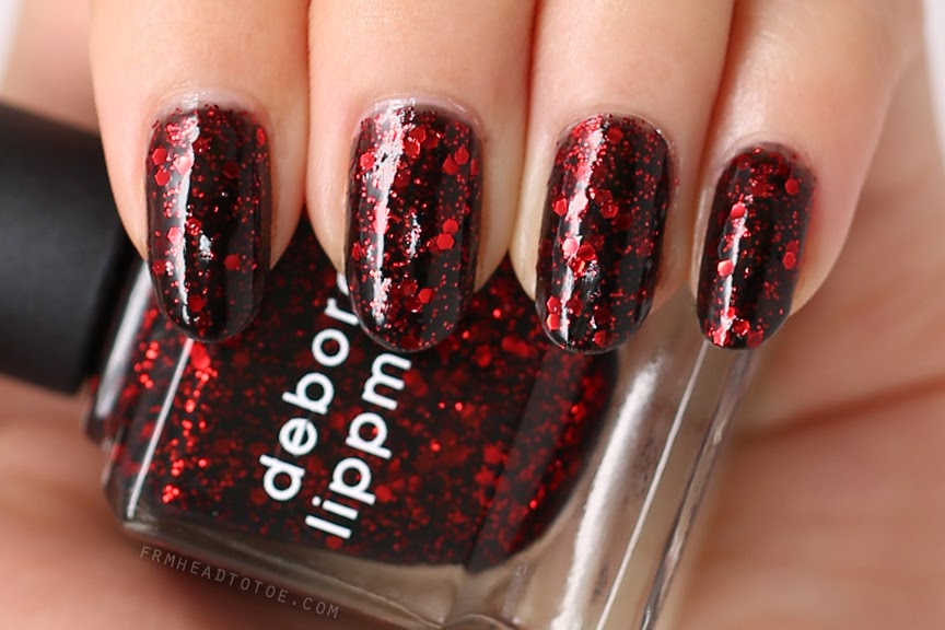 Manicure Monday: Deborah Lippmann Ruby Red Slippers