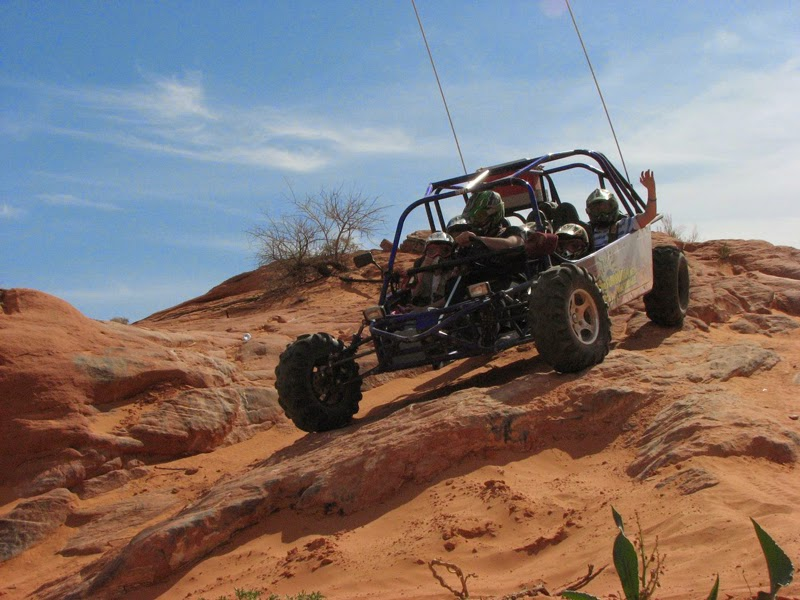 things to do during the day in Las Vegas - Buggy Tour