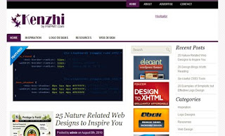 Kenzhi WordPress Theme