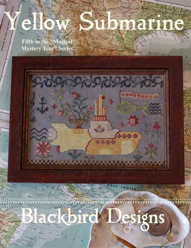 Yellow Submarine Blackbird Designs One Stitch At A Time