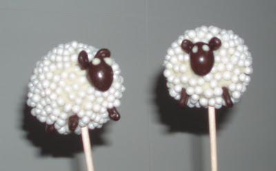 Cake Pops Ovejas