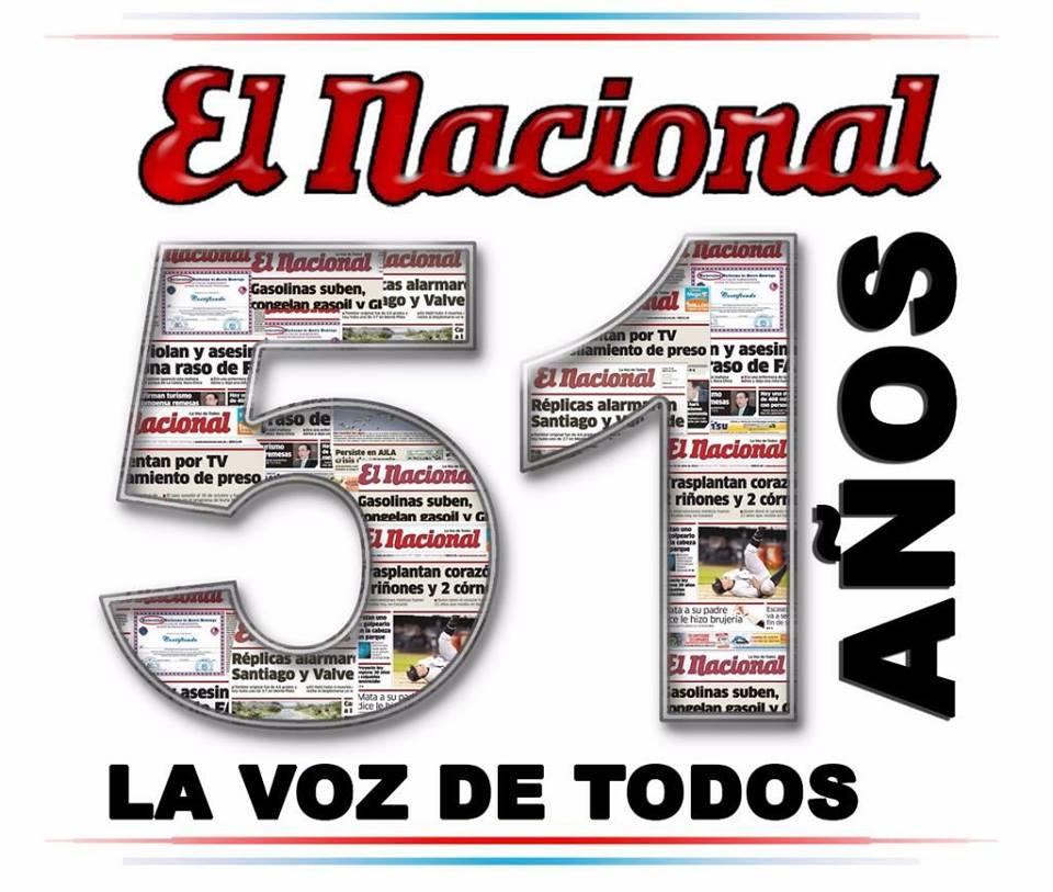FELICITAMOS AL NACIONAL EN SU 51 ANIVERSARIO